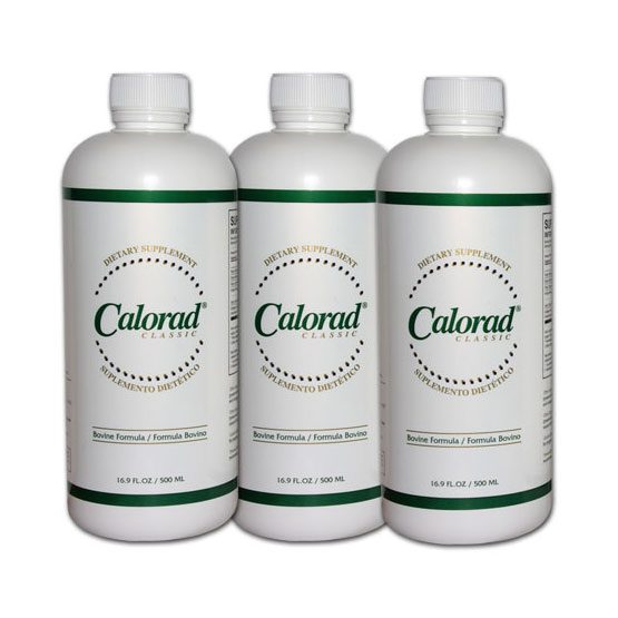 Calorad Classic 3 Bottle Special