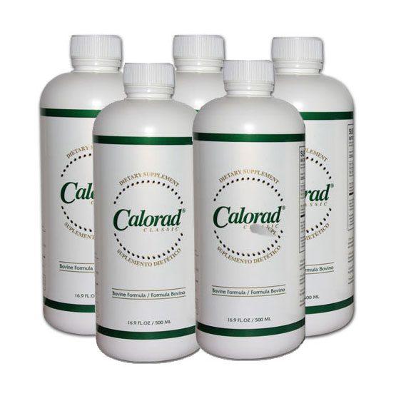 Calorad Classic - 5 Bottles